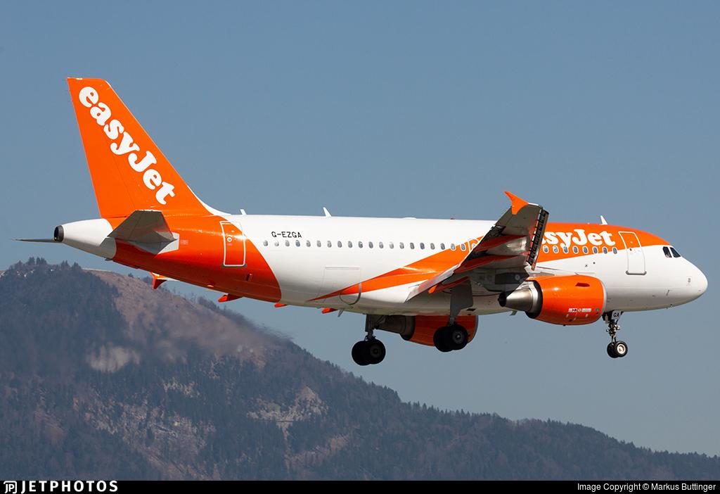 G-EZGA - Airbus A319-111 - easyJet