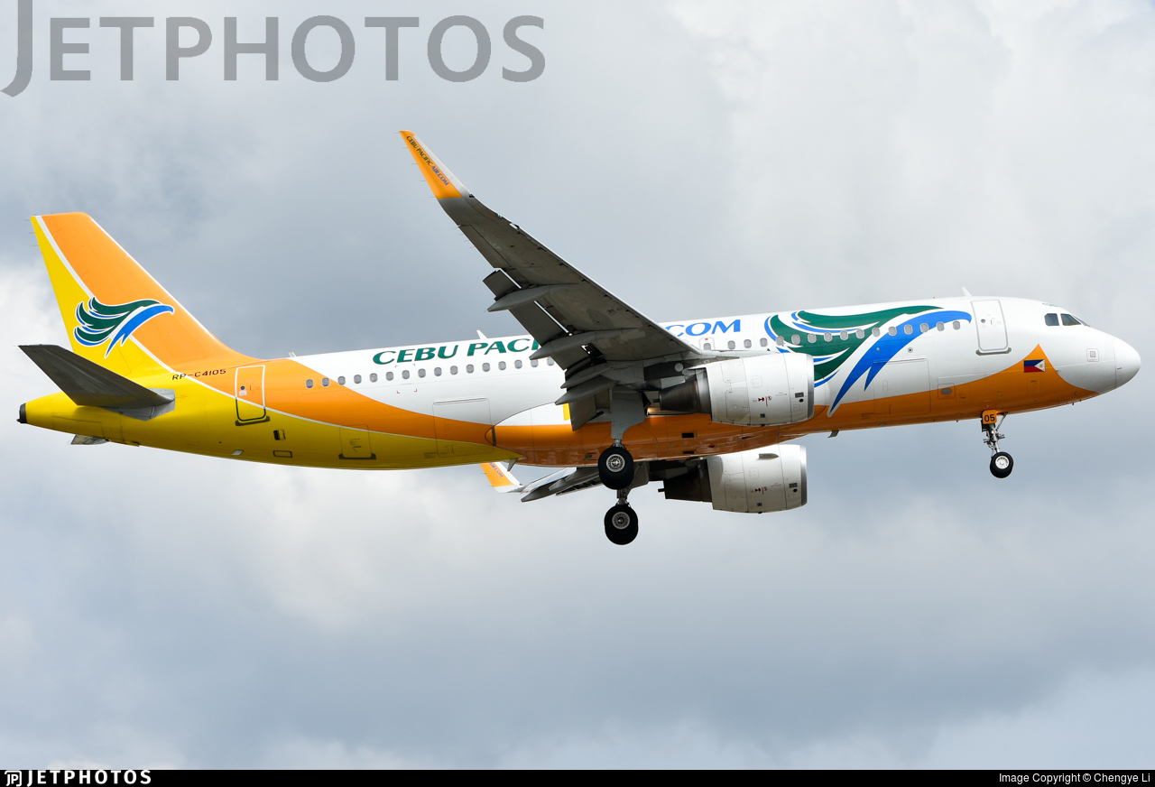 RP-C4105 - Airbus A320-214 - Cebu Pacific Air