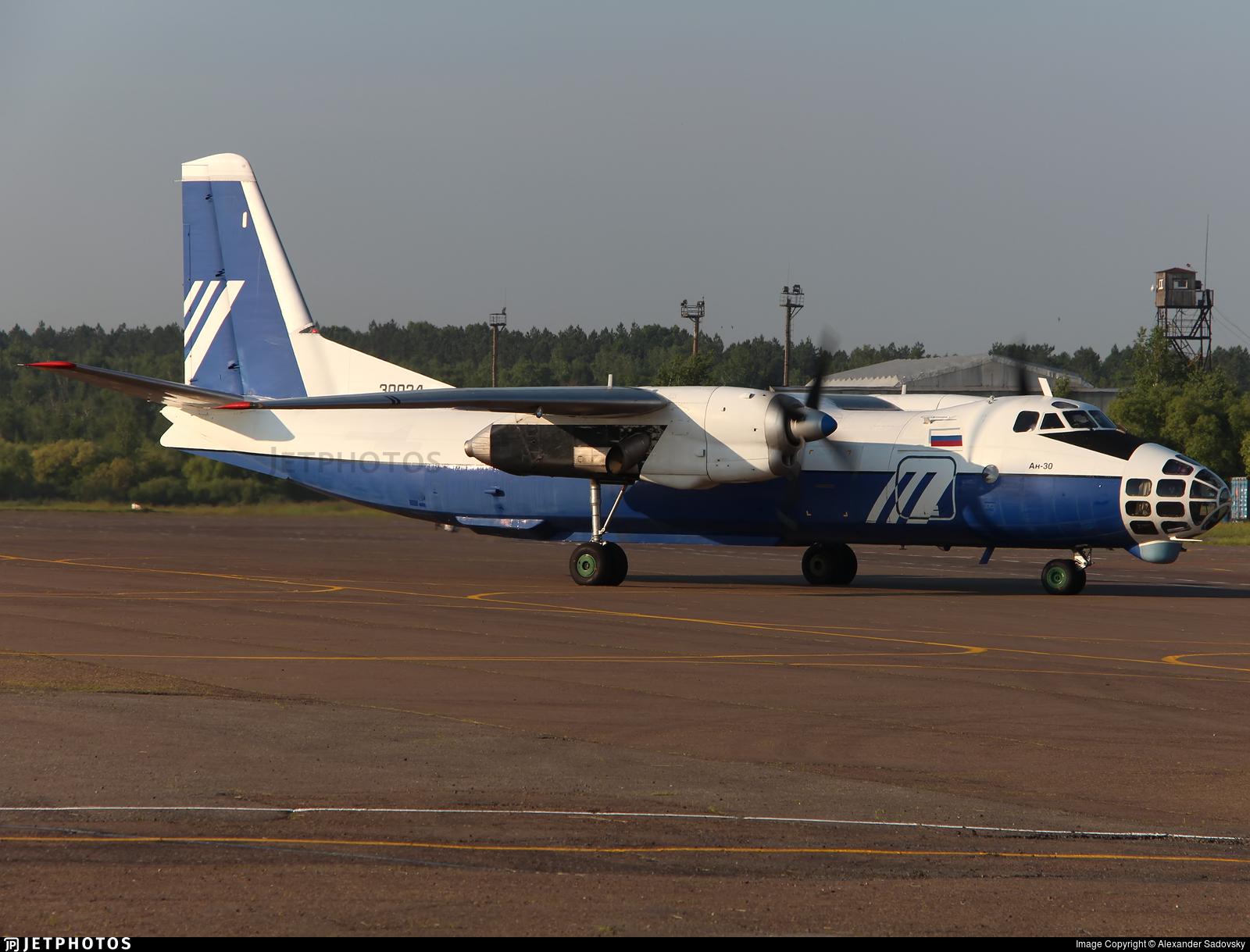 30024 - Antonov An-30 - Aerostroy