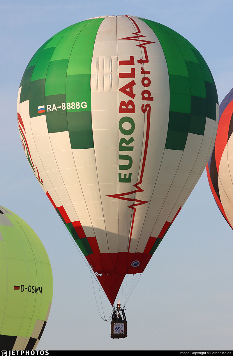 RA-8888G - Aerostat EuroBall - Private