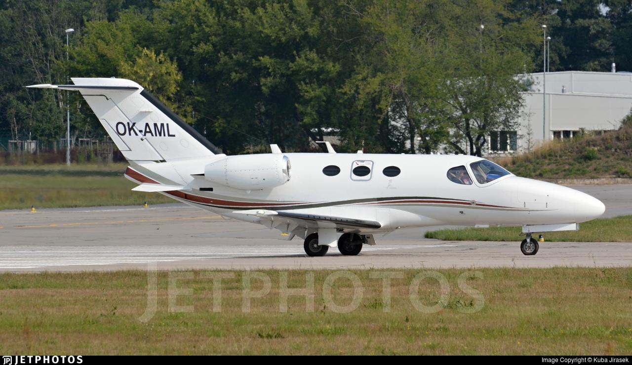 OK-AML - Cessna 510 Citation Mustang - Private