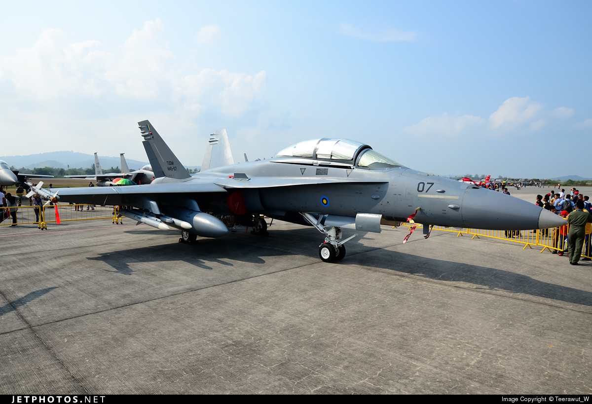 M45-07 - McDonnell Douglas F/A-18D Hornet - Malaysia - Air Force