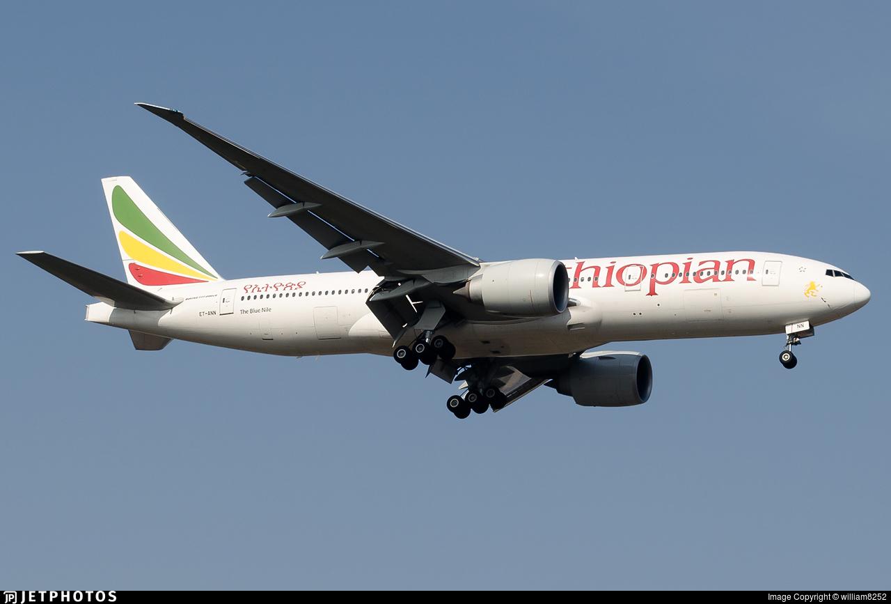 ET-ANN - Boeing 777-260LR - Ethiopian Airlines