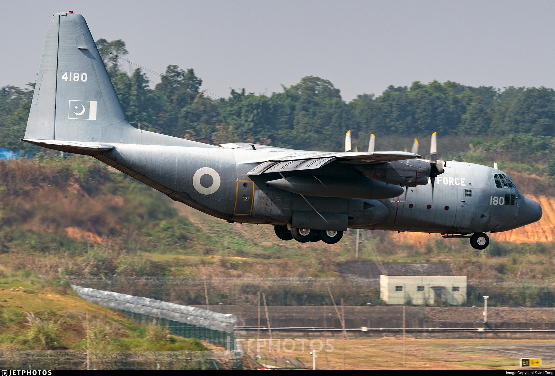 4180 - Lockheed C-130E Hercules - Pakistan - Air Force