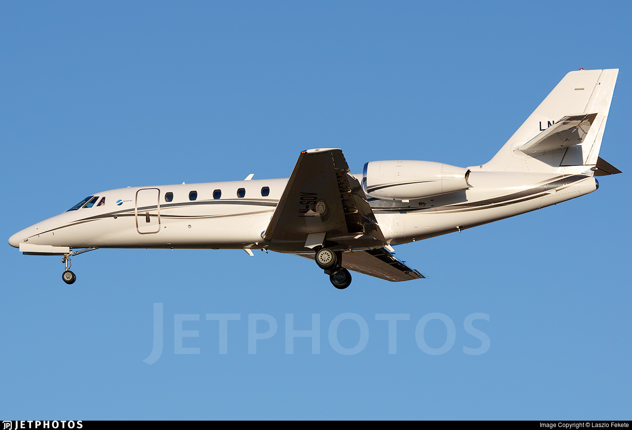 LN-SOV - Cessna 680 Citation Sovereign - Sundt Air