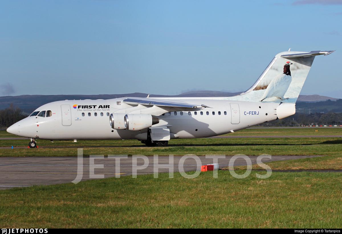 C-FERJ - British Aerospace Avro RJ85 - First Air (Summit Air)