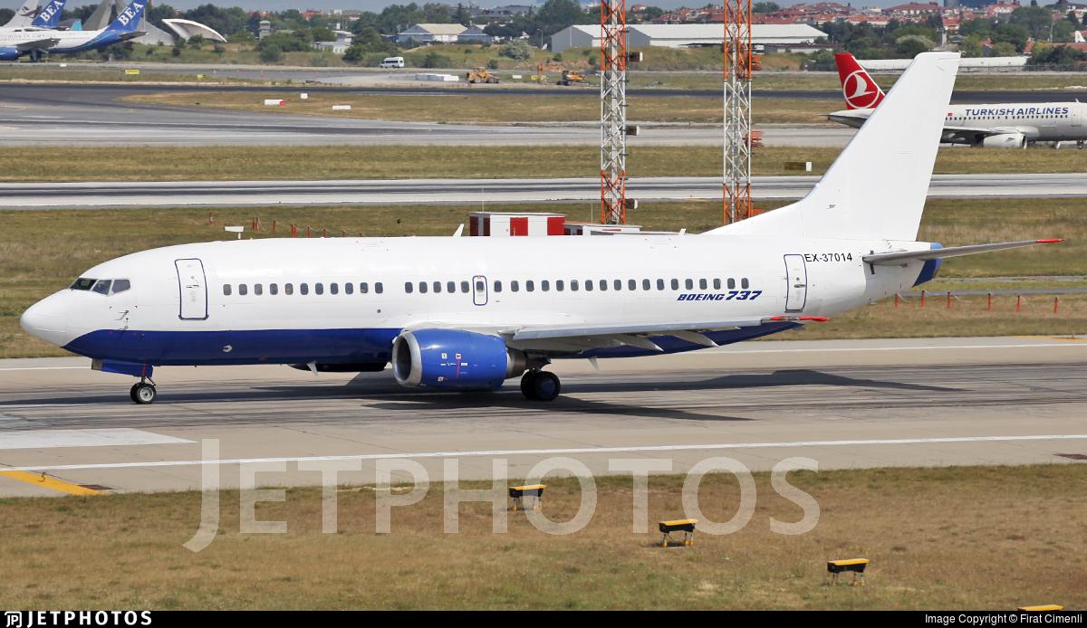 EX-37014 - Boeing 737-31S - Kyrgyzstan Aircompany