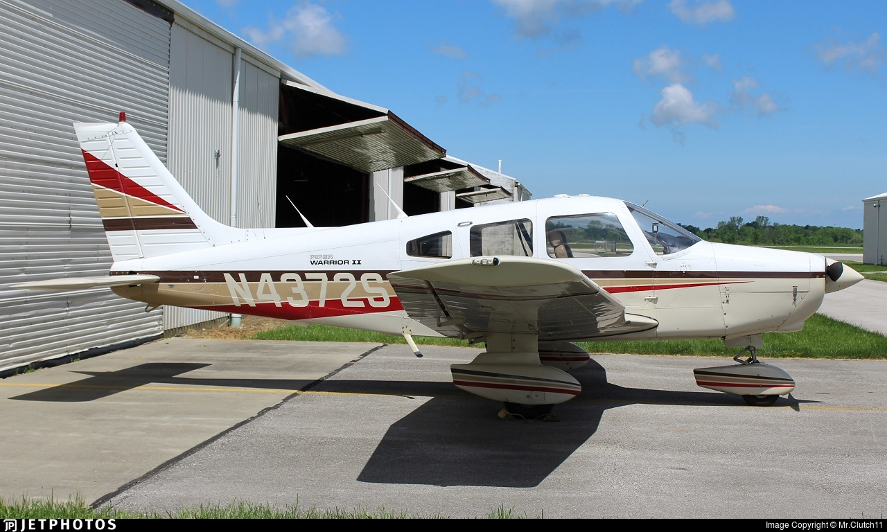N4372S - Piper PA-28-161 Warrior II - Private