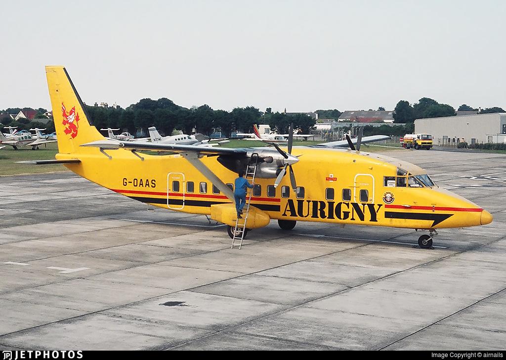 G-OAAS - Short 360-100 - Aurigny Air Services
