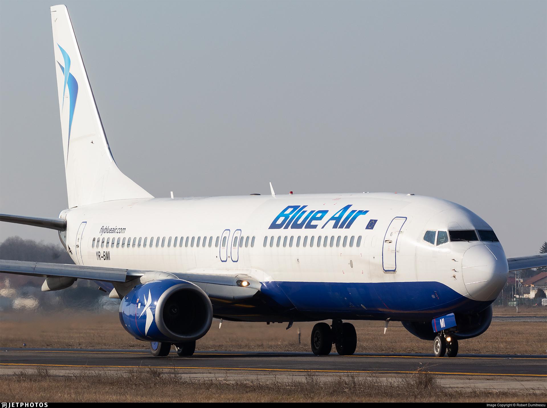 YR-BMI - Boeing 737-8K5 - Blue Air