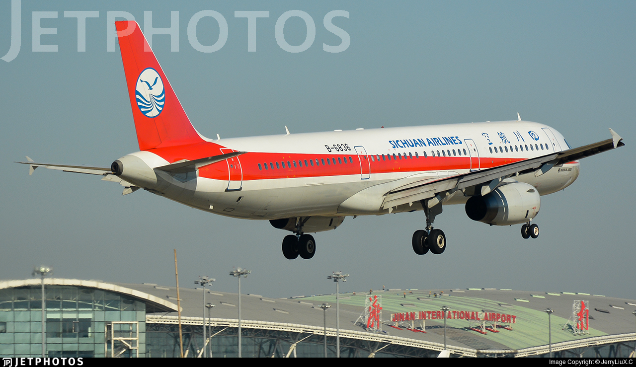 B-6836 - Airbus A321-231 - Sichuan Airlines
