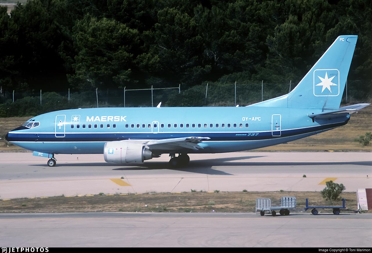 OY-APC - Boeing 737-5L9 - Maersk Air