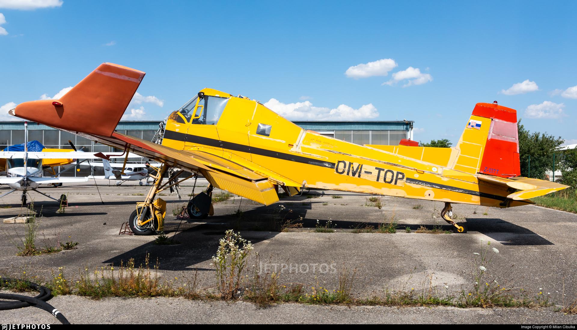 OM-TOP - Zlin Z-137T Agro Turbo - Aero Slovakia