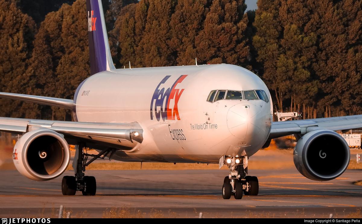 N134FE - Boeing 767-3S2F(ER) - FedEx