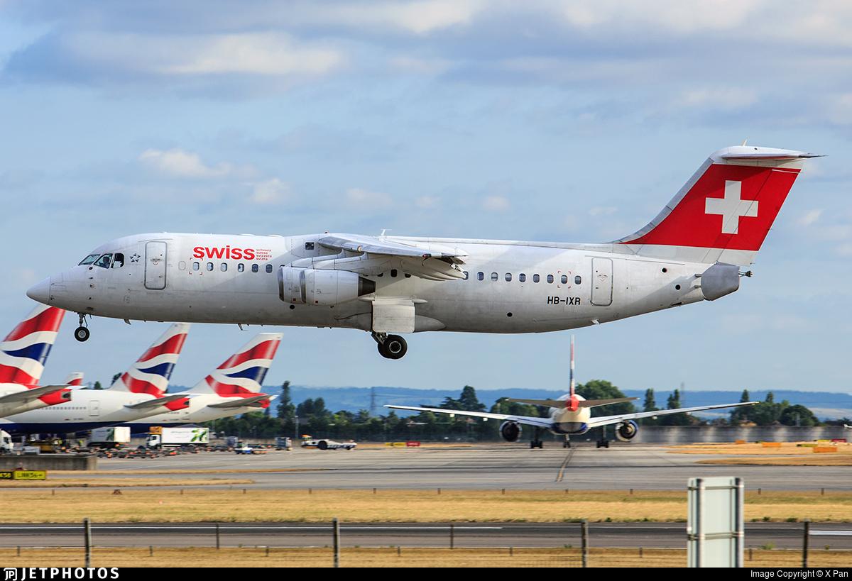 HB-IXR - British Aerospace Avro RJ100 - Swiss