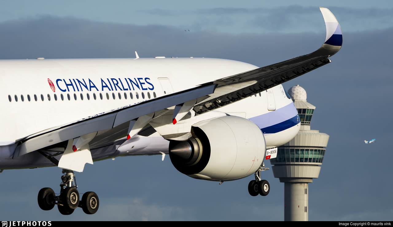 B-18906 - Airbus A350-941 - China Airlines