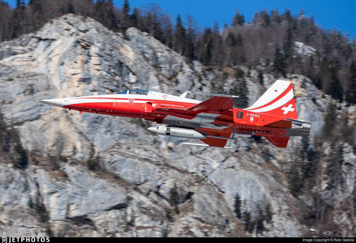 J-3082 - Northrop F-5E Tiger II - Switzerland - Air Force