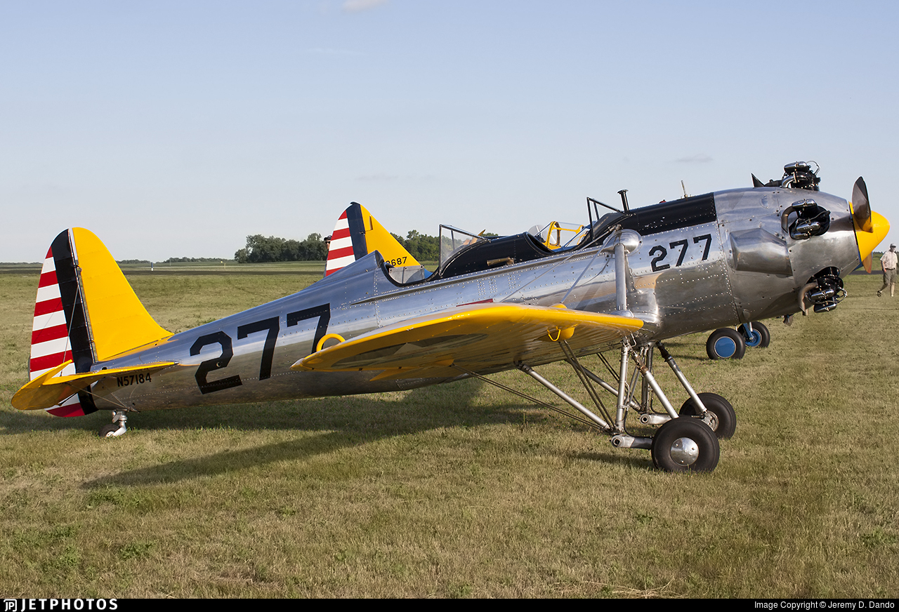N57184 - Ryan PT-22 Recruit - Private