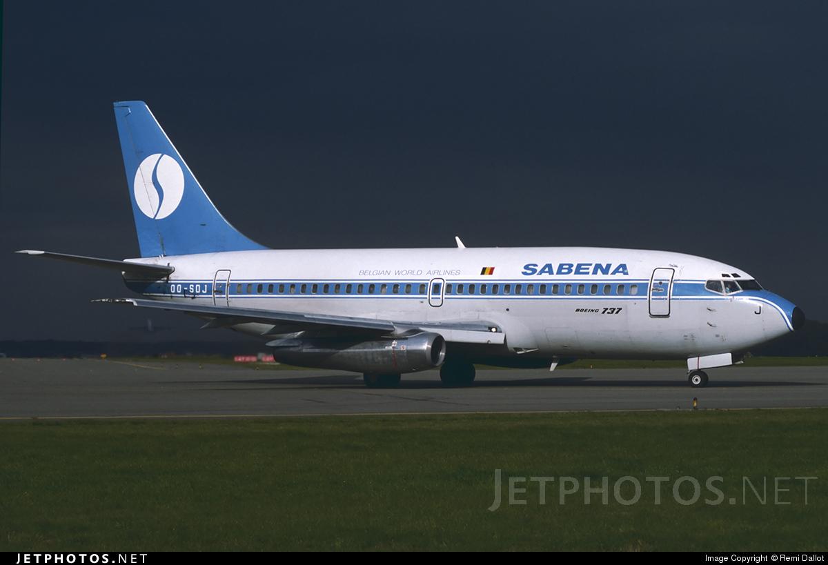 OO-SDJ - Boeing 737-229C(Adv) - Sabena