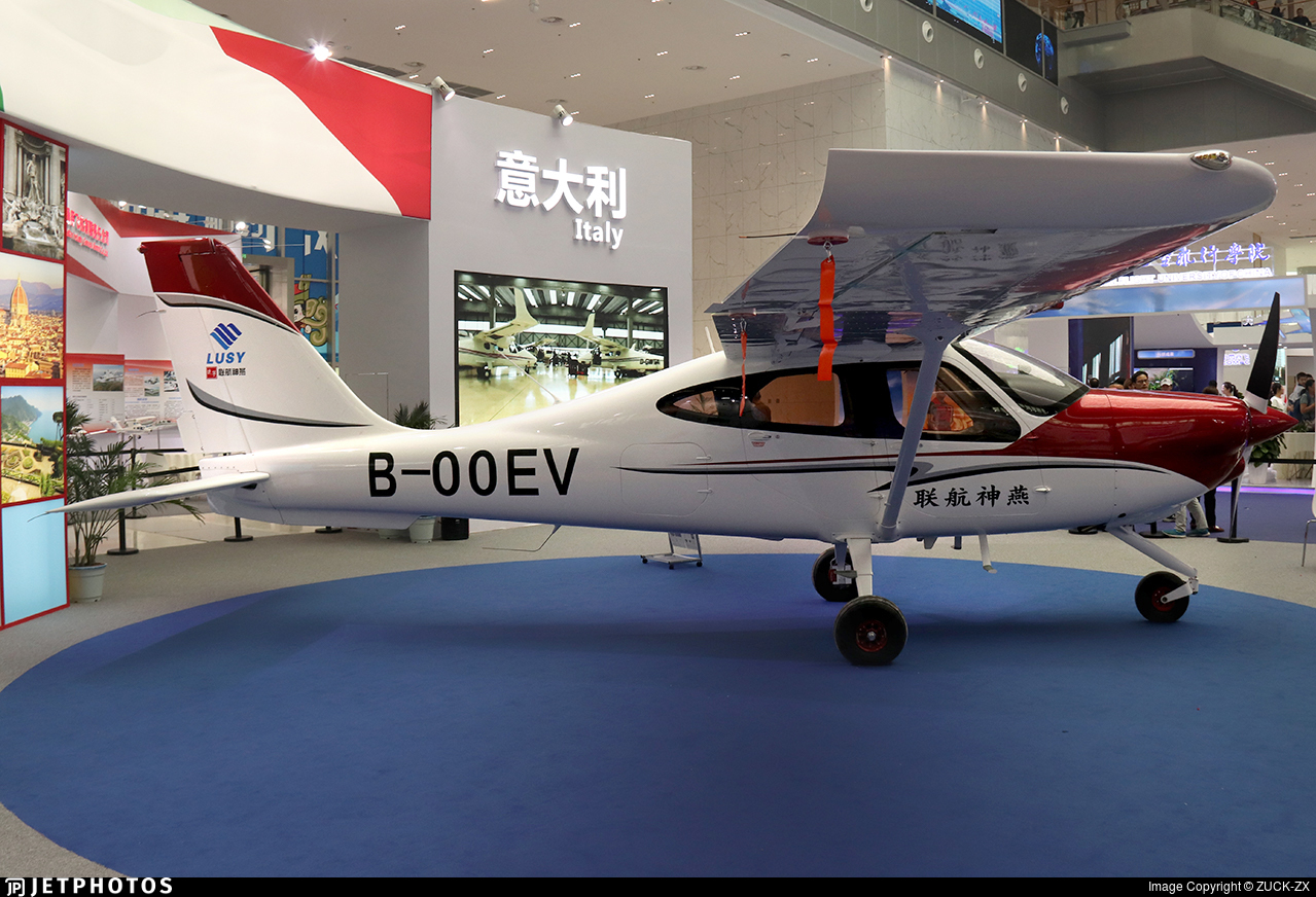 B-00EV - Tecnam P2008JC - Shenyang General Aviation