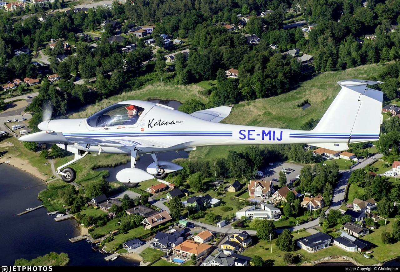 SE-MIJ - Diamond Aircraft DV-20A Katana - Blekinge Flygklubb