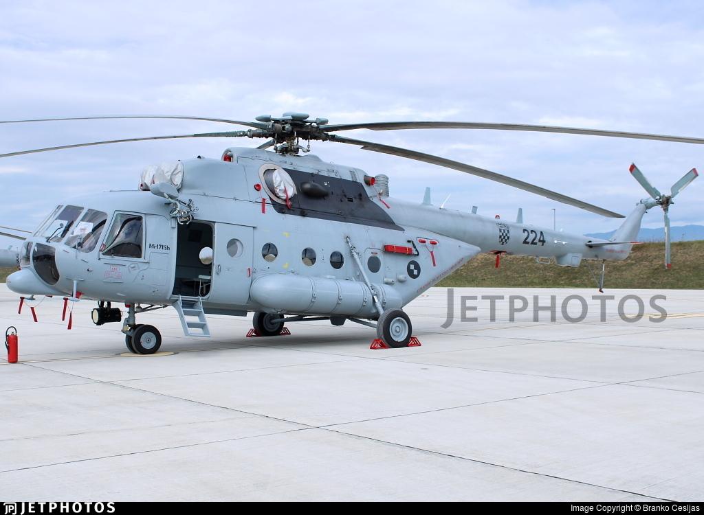 224 - Mil Mi-171Sh Baikal - Croatia - Air Force