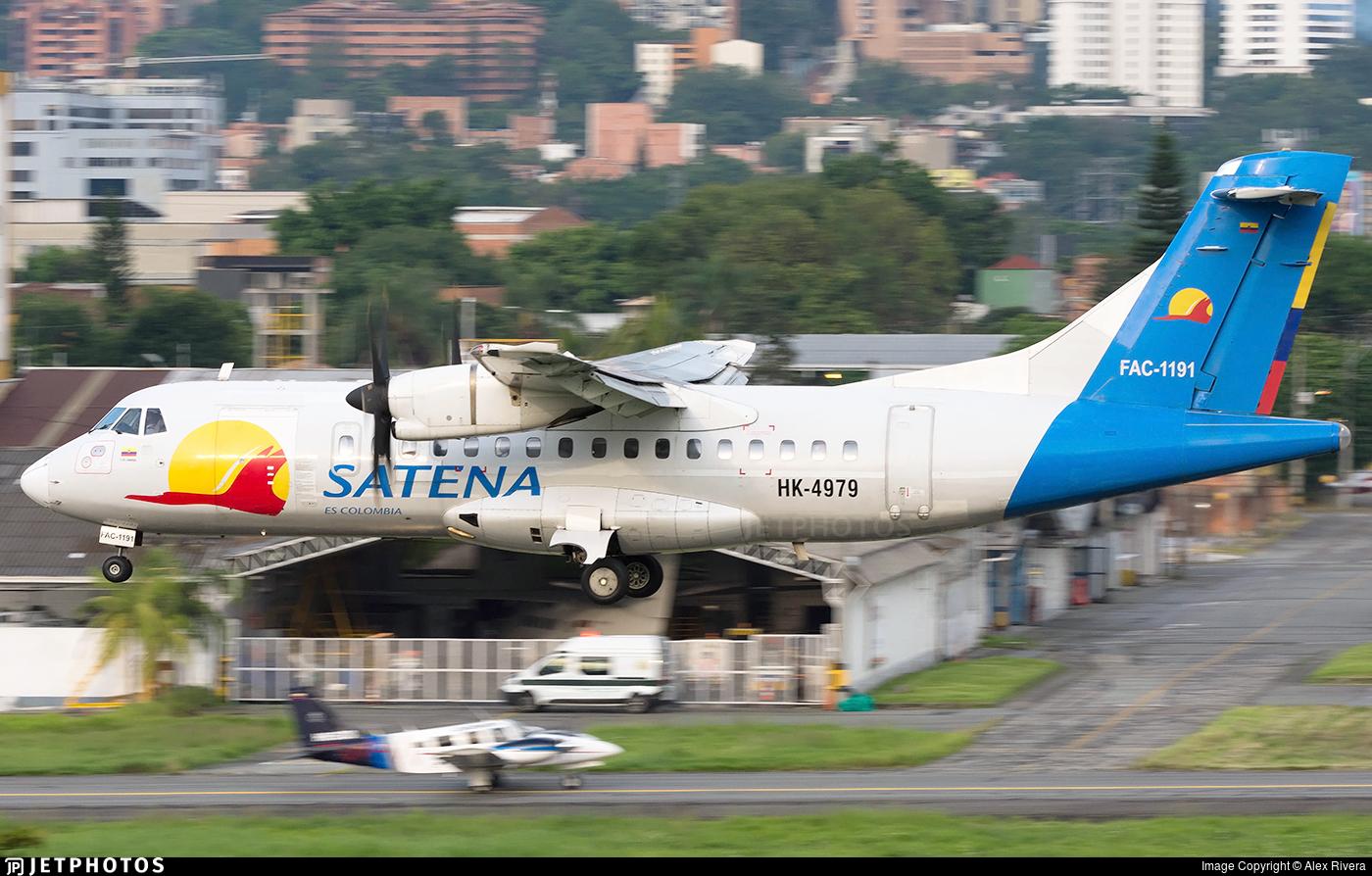 HK-4979 - ATR 42-500 - Satena