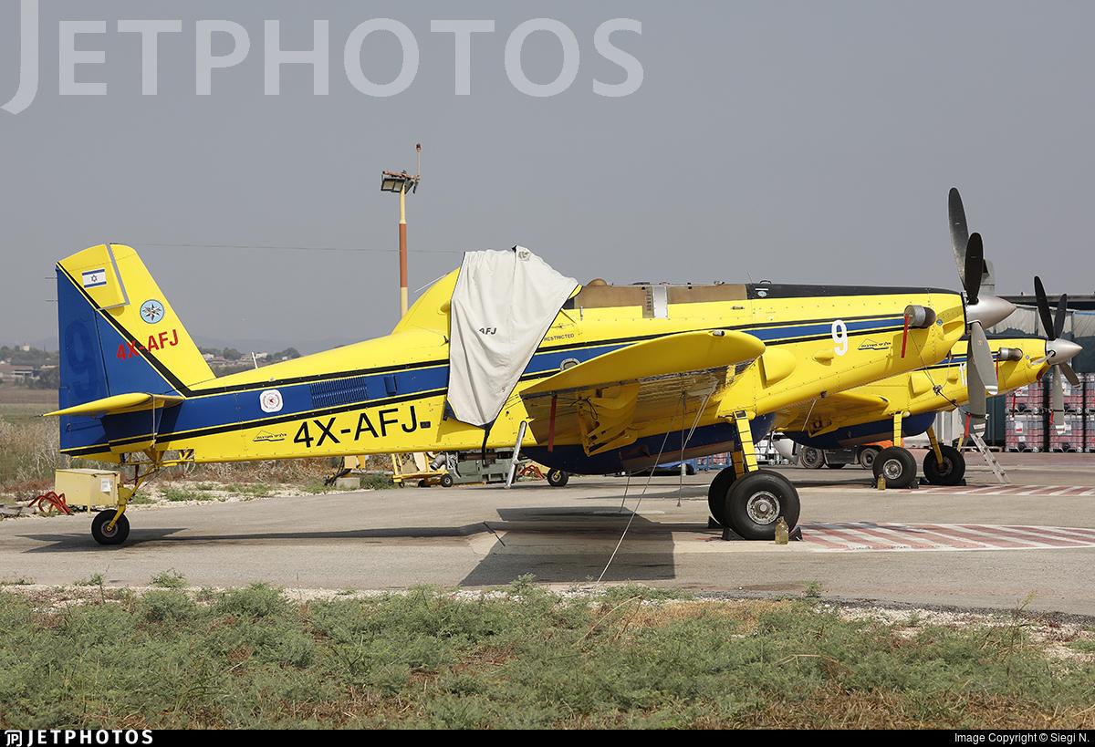 4X-AFJ - Air Tractor AT-802A - Chim-Nir Aviation