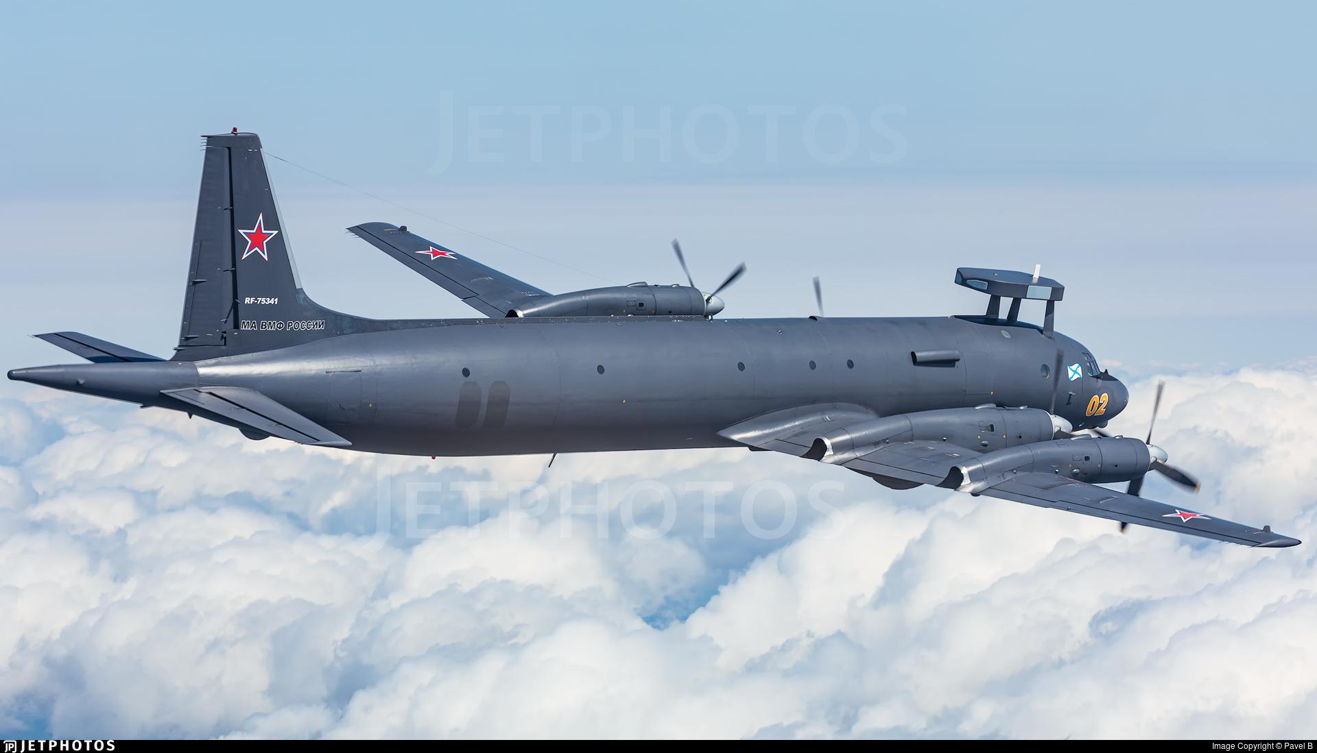 RF-75341 - Ilyushin IL-38 May - Russia - Navy