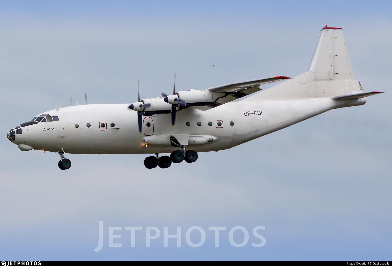 UR-CSI - Antonov An-12A - Aeronet FZE (Cavok Air)