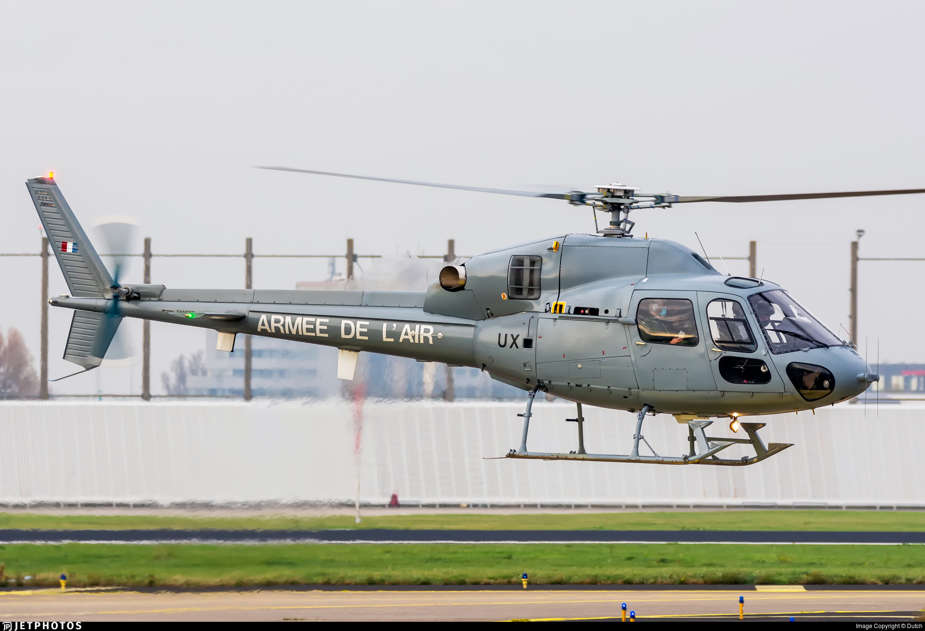 5386 - Aérospatiale AS 555AN Fennec - France - Air Force