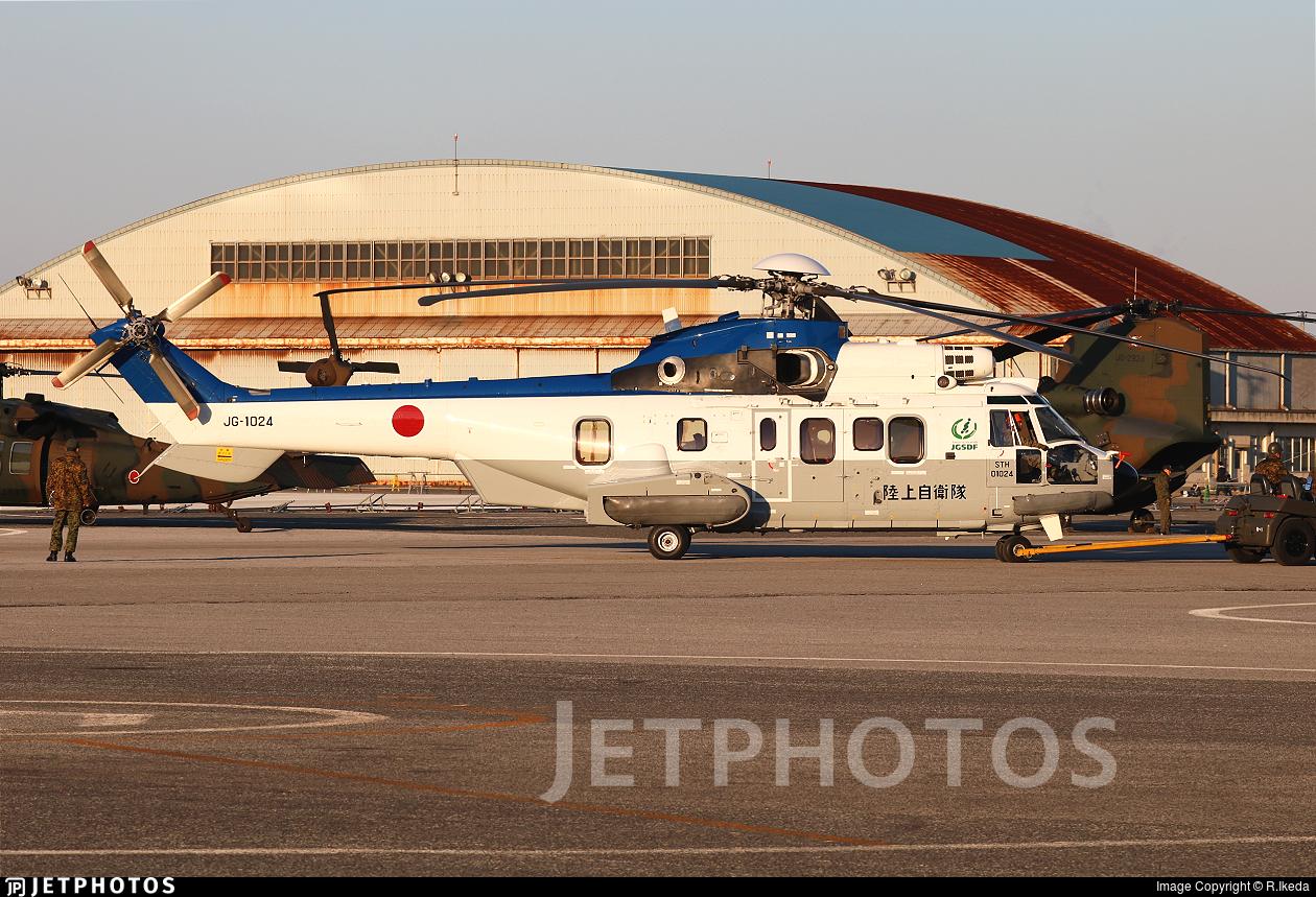 01024 - Eurocopter EC 225LP Super Puma II+ - Japan - Ground Self Defence Force (JGSDF)
