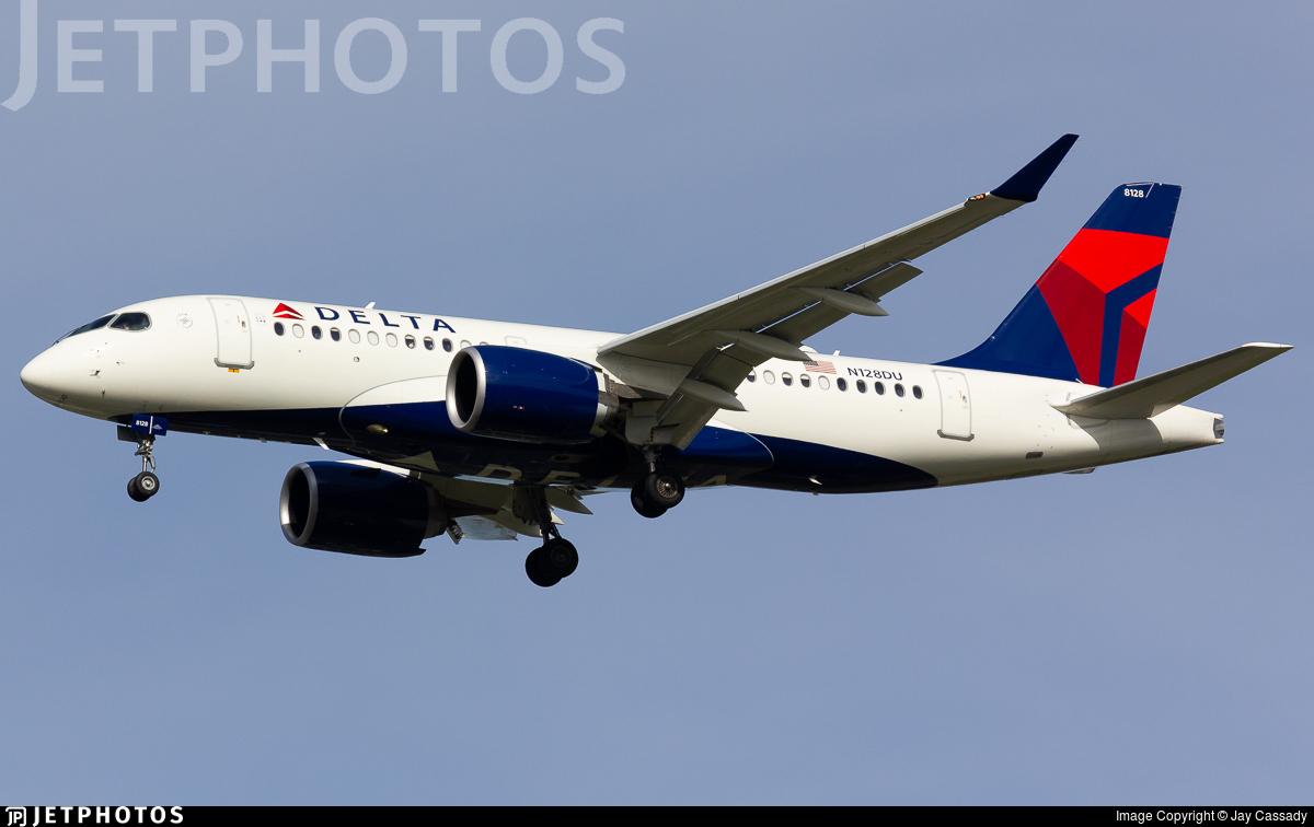 N128DU - Airbus A220-171 - Delta Air Lines