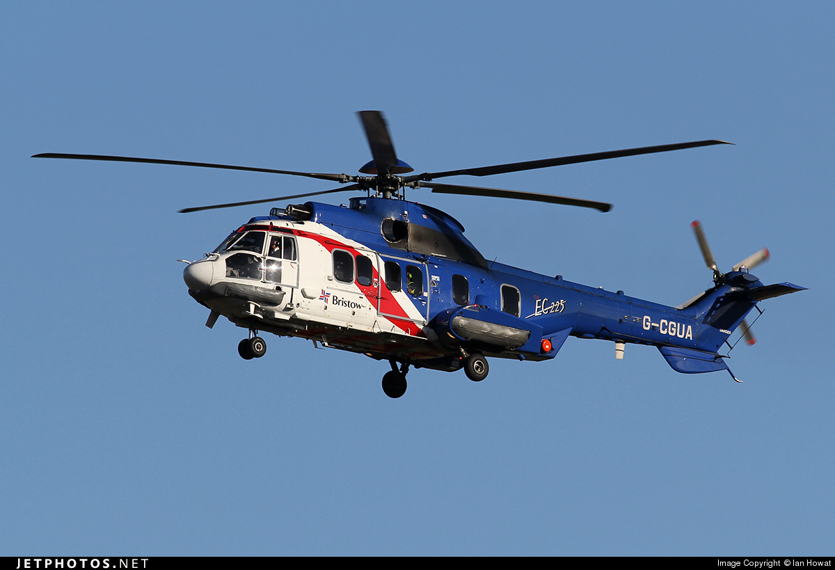 G-CGUA - Eurocopter EC 225LP Super Puma II+ - Bristow Helicopters