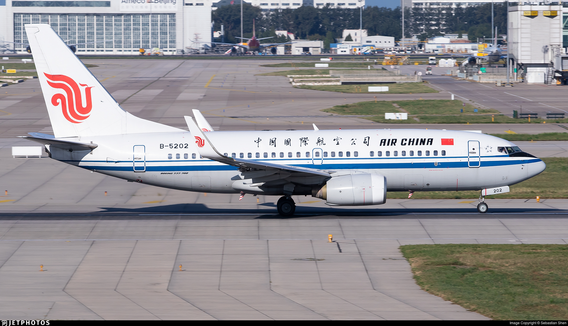 B-5202 - Boeing 737-79L - Air China