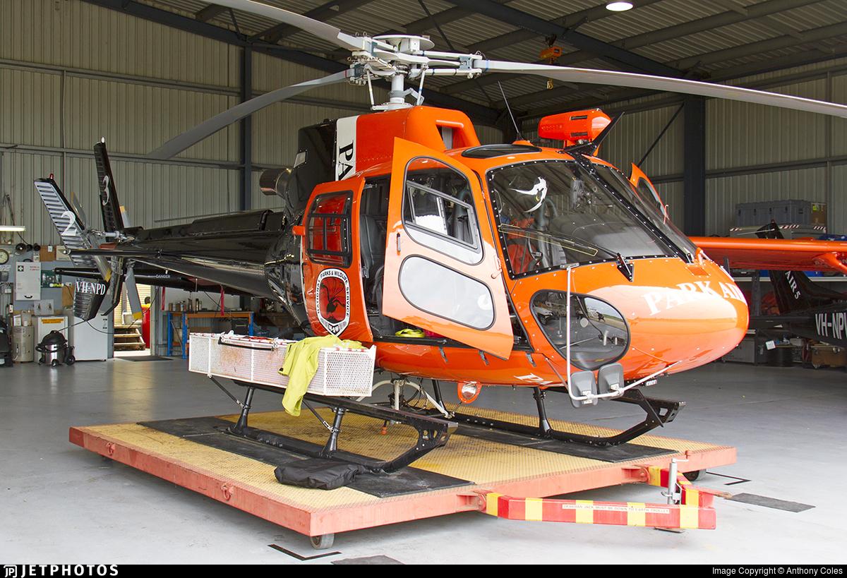 VH-ZHG - Eurocopter AS 350B3 Ecureuil - Australia - National Parks & Wildlife (ParkAir)