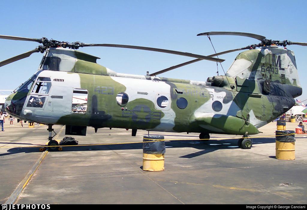 156443 - Boeing Vertol CH-46E Sea Knight - United States - US Marine Corps (USMC)