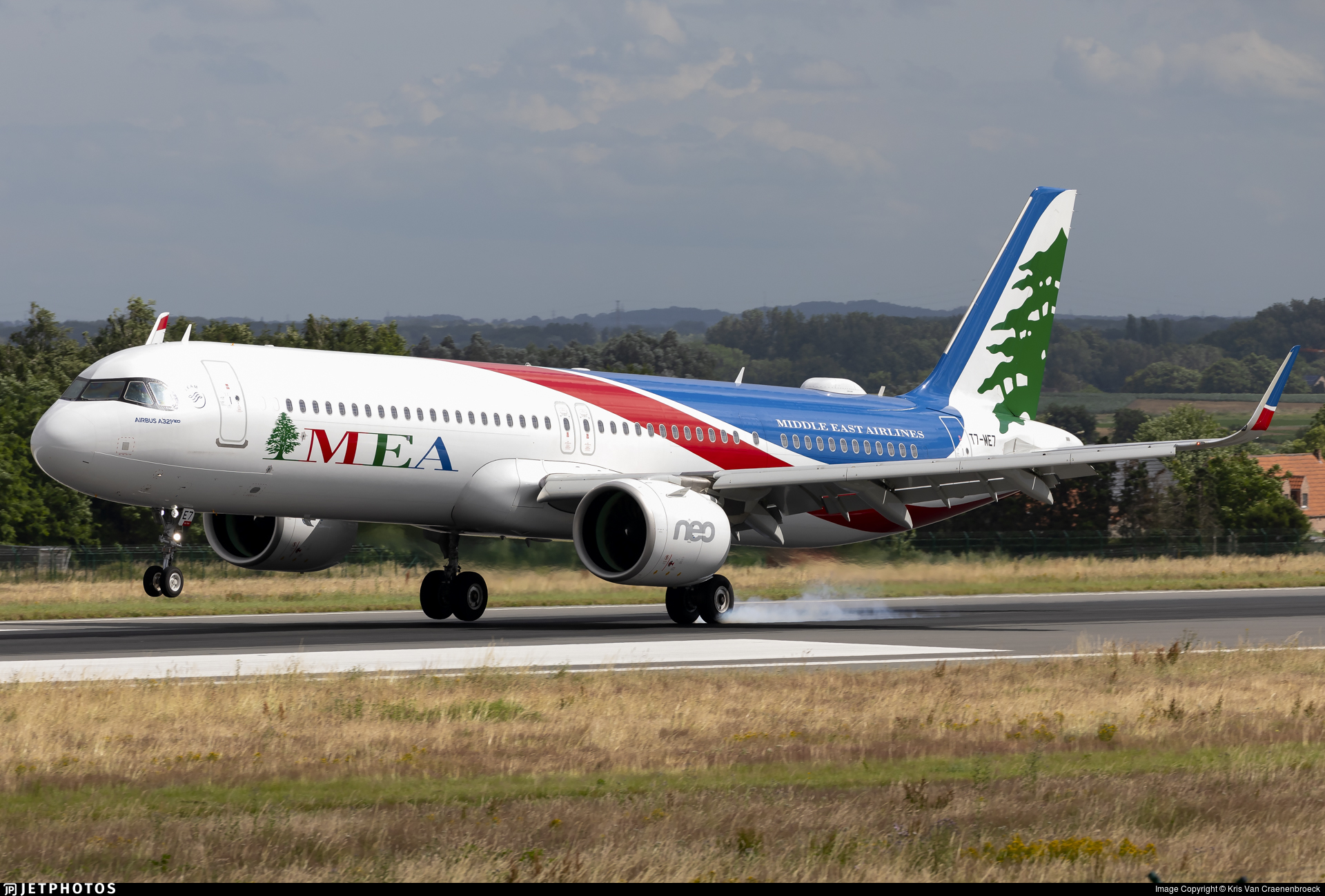 T7-ME7 - Airbus A321-271NX - Middle East Airlines (MEA)