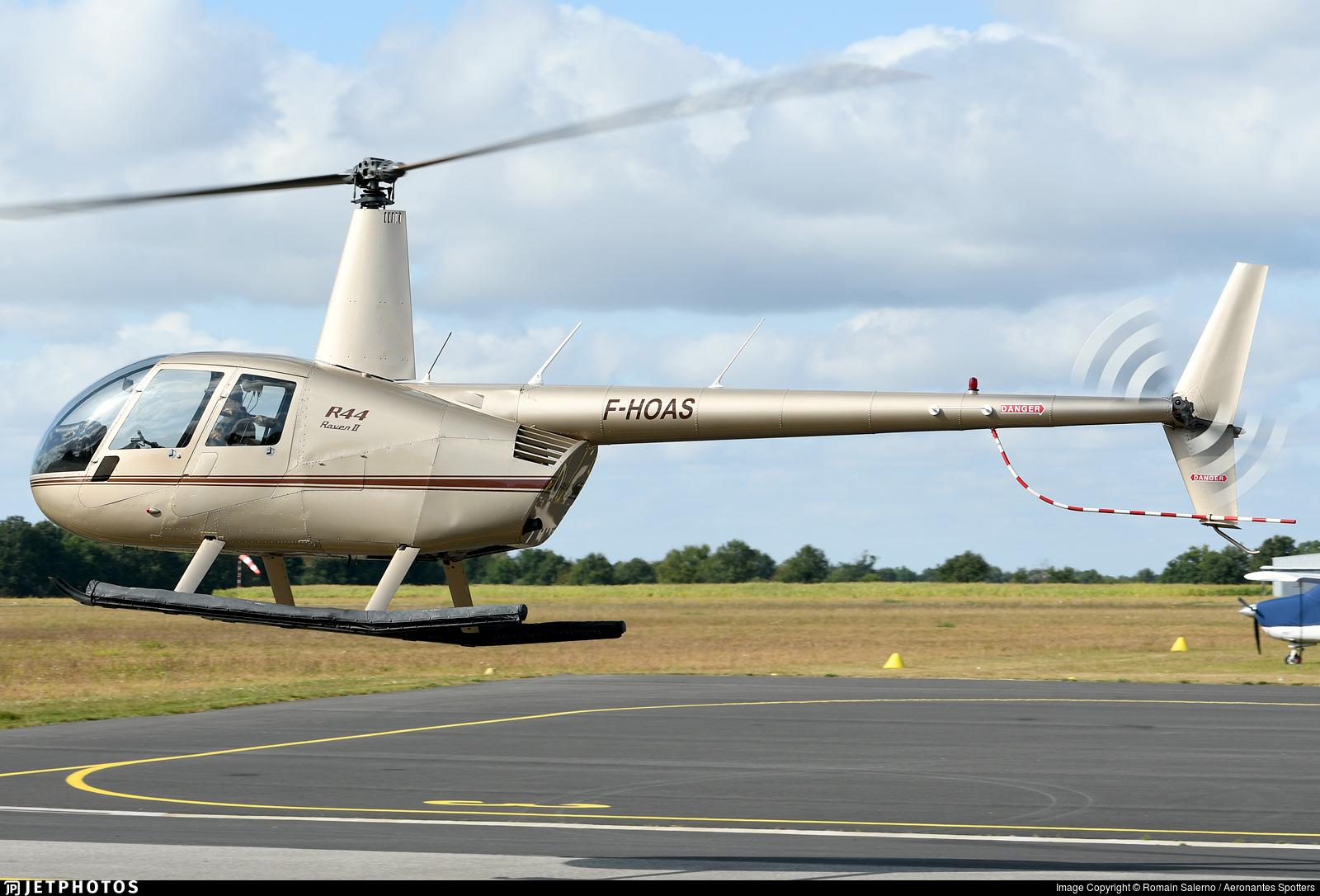 F-HOAS - Robinson R44 Raven II - Private