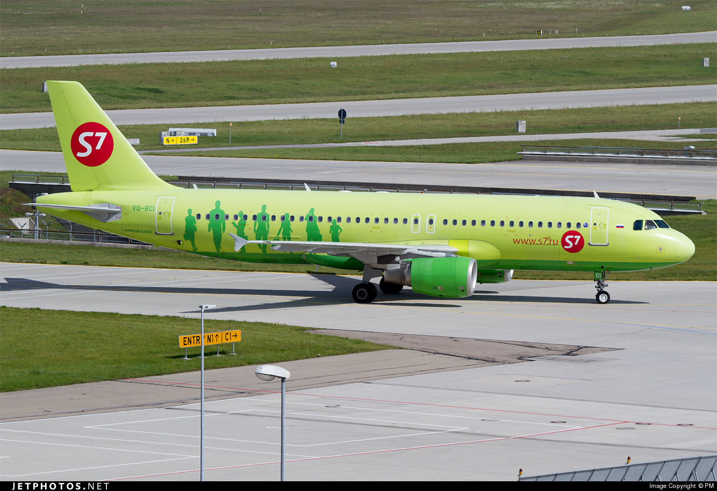 VQ-BCI - Airbus A320-214 - S7 Airlines