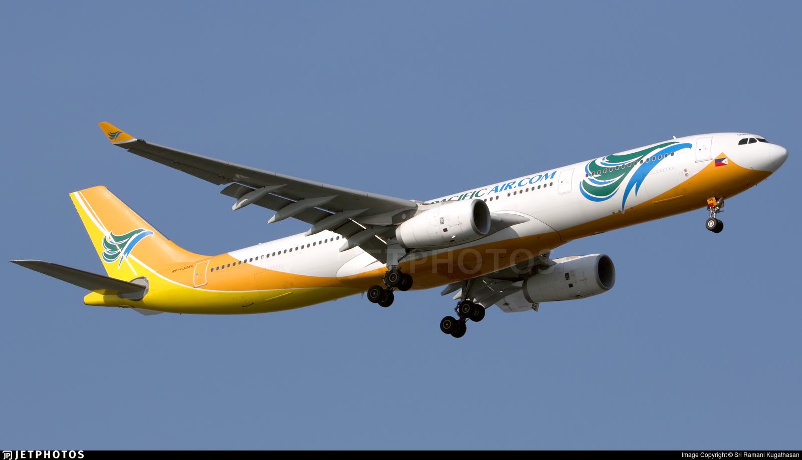 RP-C3346 - Airbus A330-343 - Cebu Pacific Air
