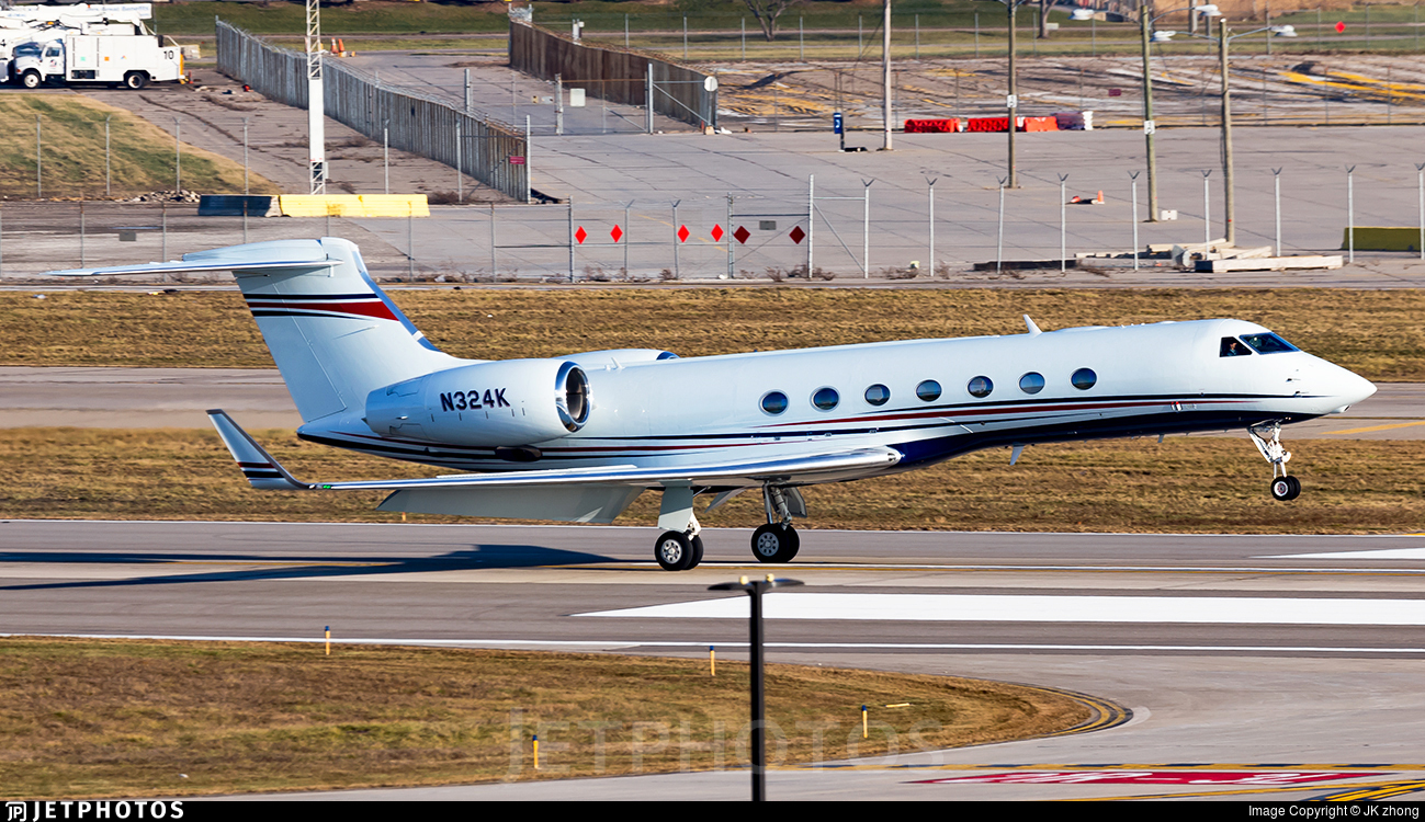 N324K - Gulfstream G550 - Private
