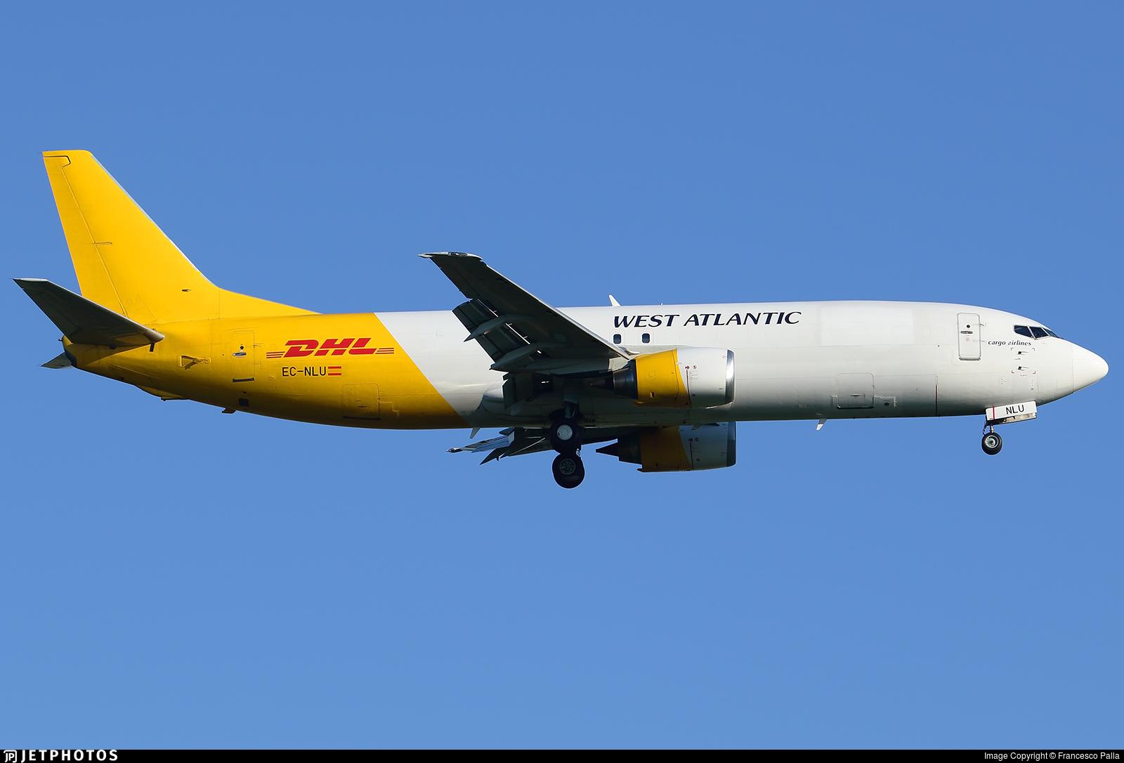 EC-NLU - Boeing 737-4Q8(SF) - West Atlantic (Swiftair)