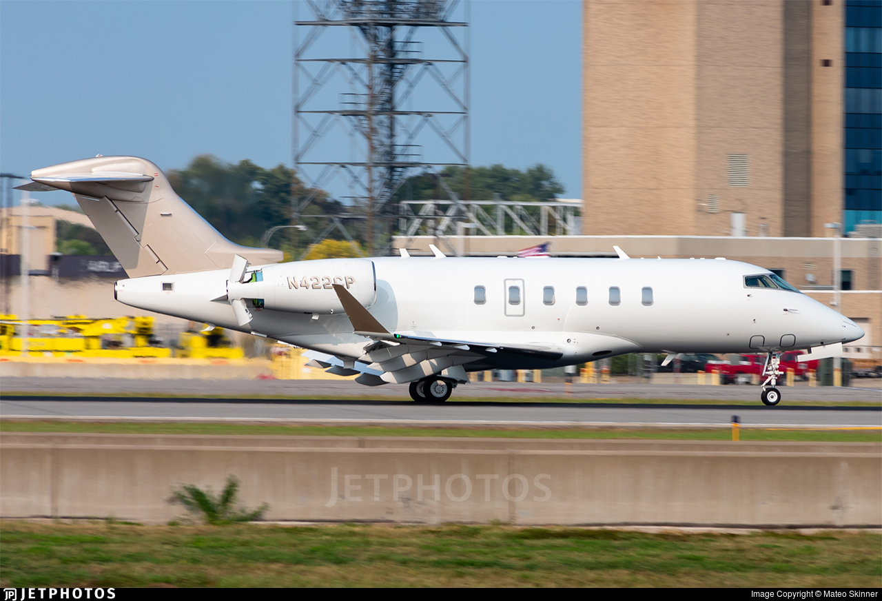 N422CP - Bombardier BD-100-1A10 Challenger 300 - Private