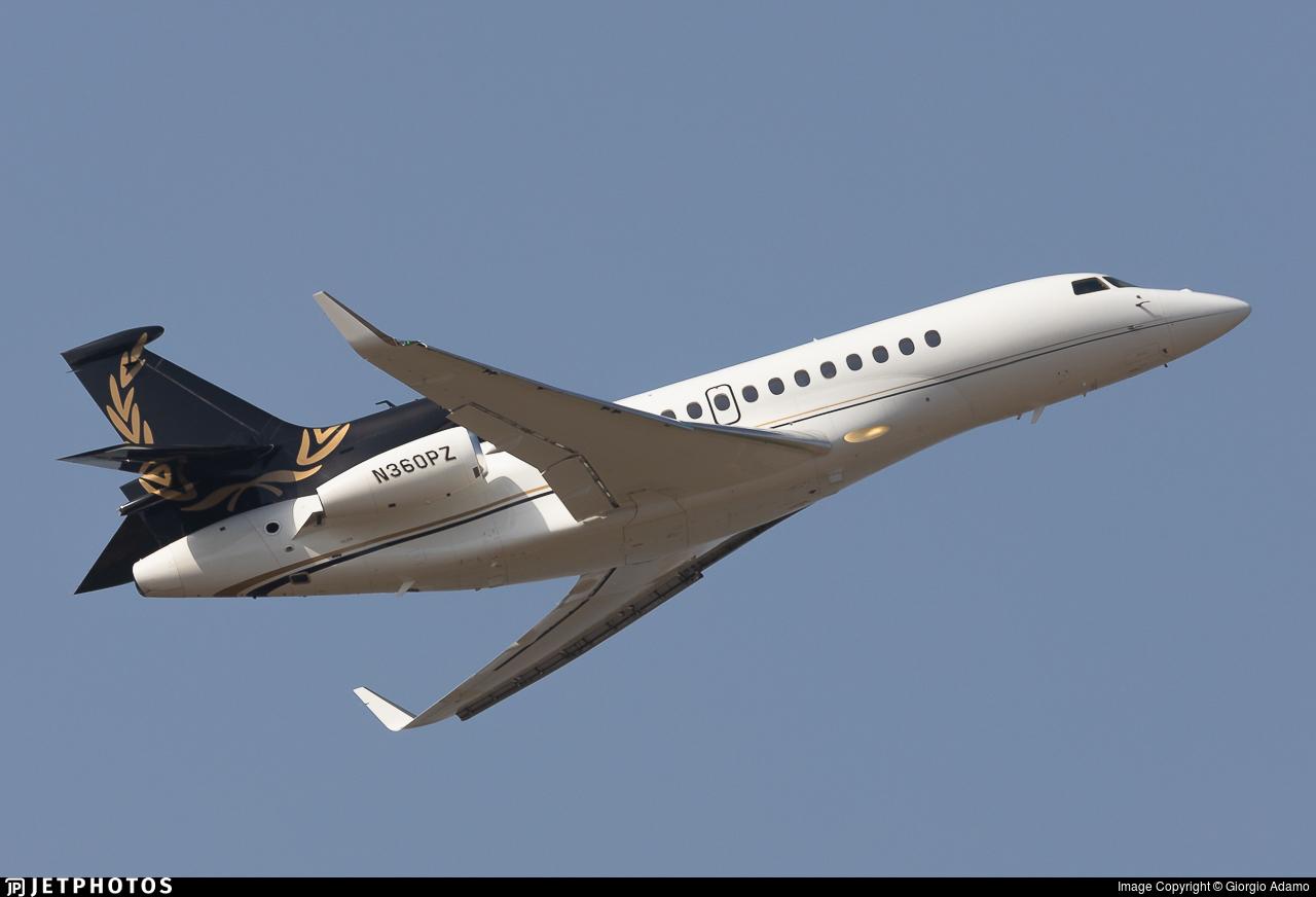 N360PZ - Dassault Falcon 7X - Private