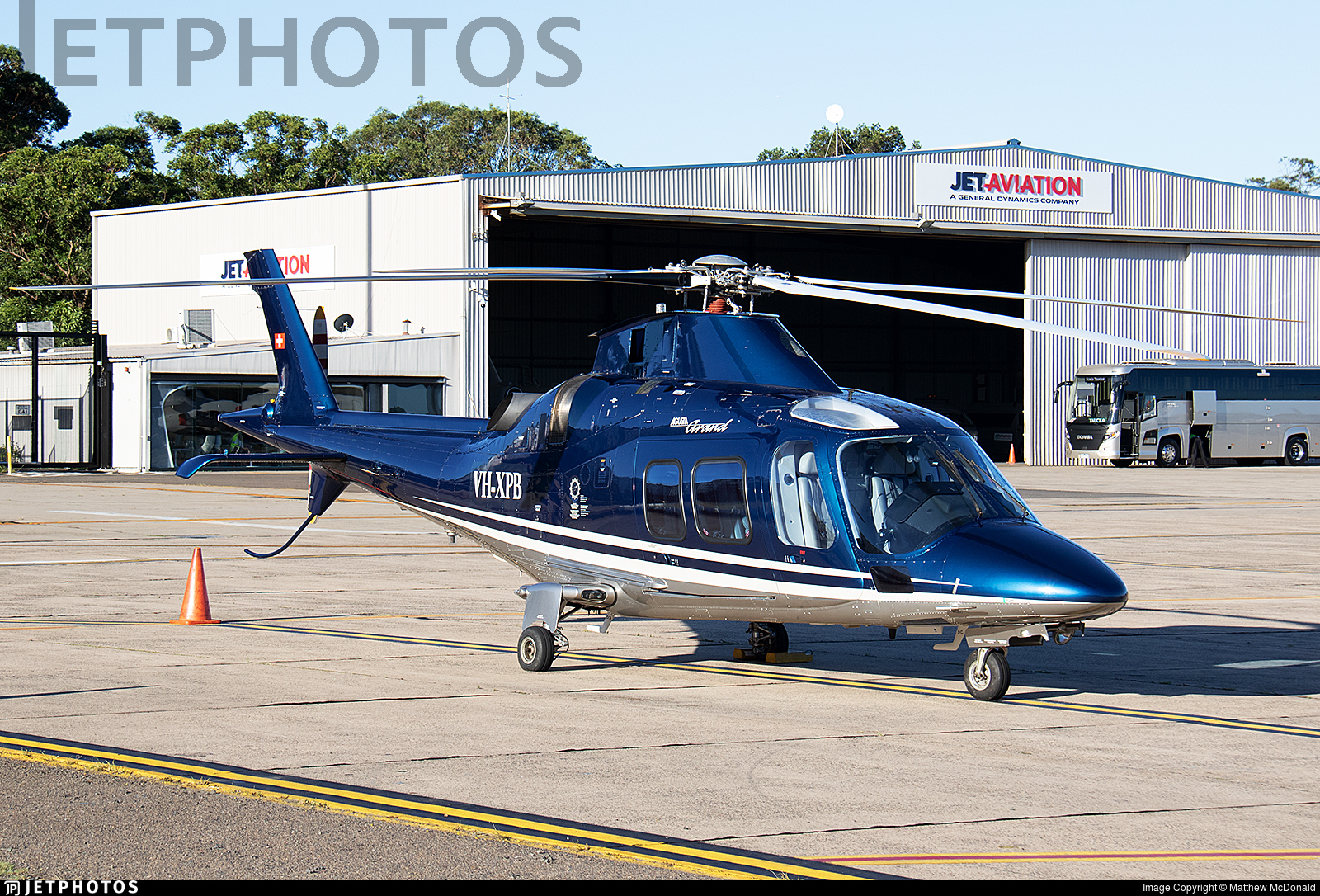 VH-XPB - Agusta A109S Grand - Private