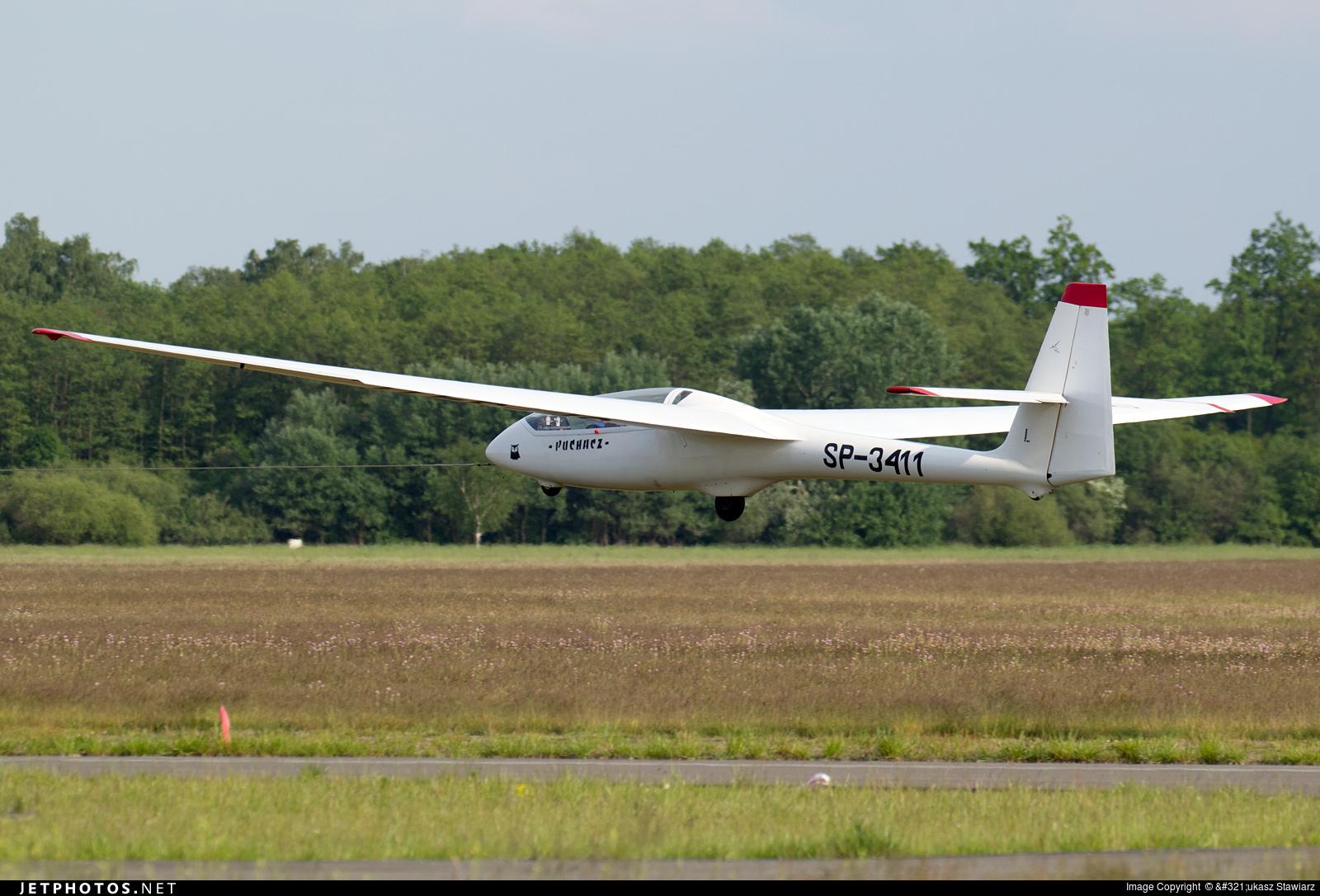SP-3411 - SZD 50-3 Puchacz - Aero Club - Wloclawski