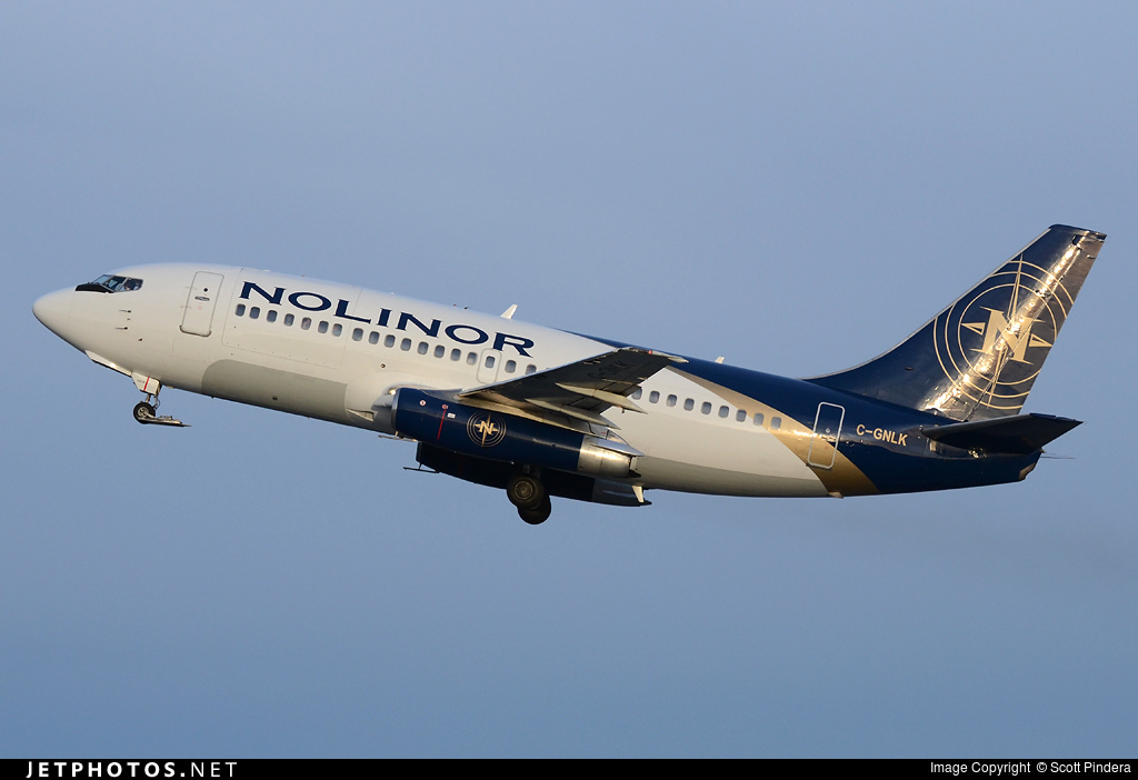 C-GNLK - Boeing 737-2K2C(Adv) - Nolinor Aviation