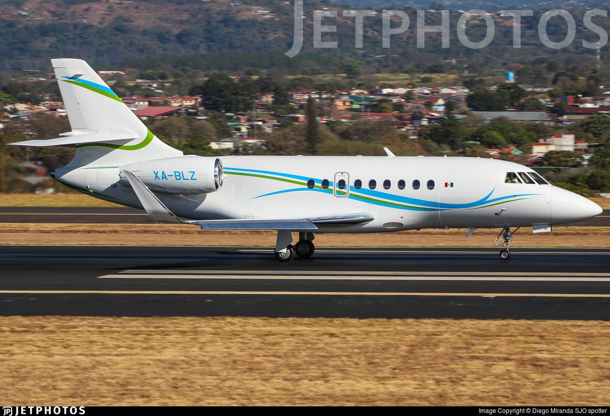 XA-BLZ - Dassault Falcon 2000LX - Private