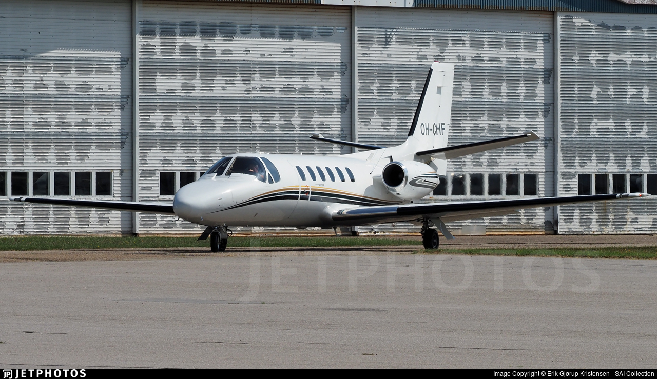 OH-CHF - Cessna 550 Citation II - Private